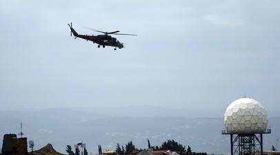 Военные в Сирии сбили запущенные в сторону авиабазы Хмеймим беспилотники