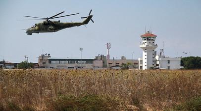 Средства ПВО авиабазы Хмеймим сбили пять запущенных боевиками беспилотников