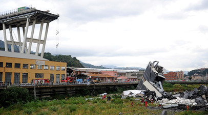 Юнкер и Туск выразили соболезнования по поводу обрушения моста в Италии