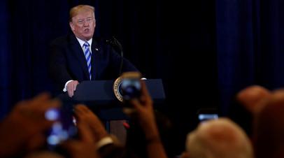 «Им нет доверия»: как в США отреагировали на решение Трампа отозвать у экс-руководителей спецслужб допуск к госсекретам