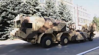 Пусковая установка ОТРК без контейнеров с ракетами