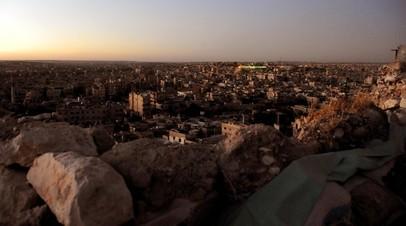 Цитадель в сирийском Алеппо будет восстановлена в 2019 году