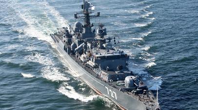 Сторожевой корабль «Ярослав Мудрый» отправился из Судана в Суэцкий канал