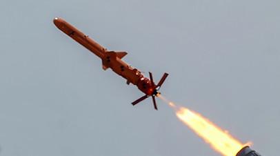 Фото испытаний новой украинской крылатой ракеты