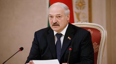 Лукашенко объяснил обновления в правительстве Белоруссии