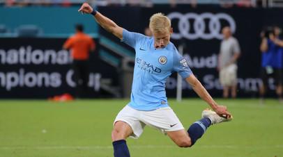 СМИ: Украинский футболист Зинченко ожидает решения «Манчестер Сити» о переходе в «Бетис»