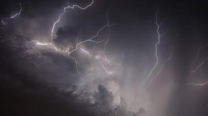 МЧС предупредило о грозе и сильном ветре в Петербурге в ночь на 21 августа
