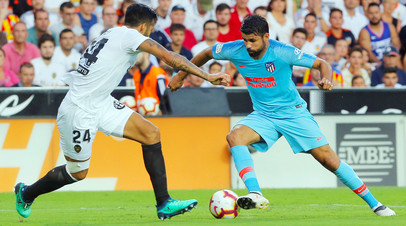 «Валенсия» сыграла вничью с «Атлетико» в первом туре чемпионата Испании, Черышев на поле не вышел