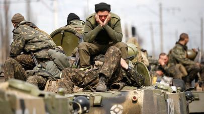 Украинская армия в Краматорске