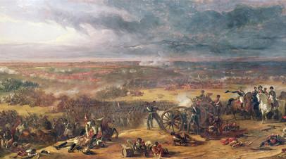 Уильям Аллан «Битва при Ватерлоо»