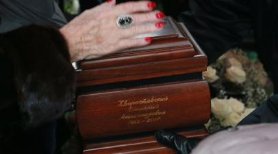 Капсула с частью праха Хворостовского захоронена в Красноярске