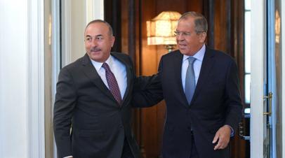 Лавров рассказал о процессе обсуждения с Турцией вопроса о размежевании в сирийском Идлибе