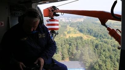 Площадь лесного пожара во Владимирской области достигла 400 га