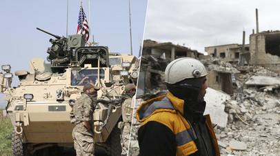 «Повод для оправдания вмешательства»: кому может быть выгодна готовящаяся провокация с использованием химоружия в Сирии