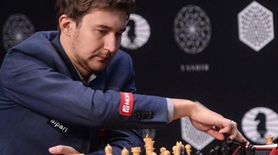Карякин и Грищук сыграли вничью свои партии на шахматном Кубке Синкфилда