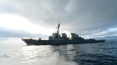 Эскадренный миноносец «Росс» ВМС США типа «Арли Бёрк»