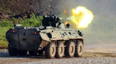 Облако из шрапнели: как управляемые боеприпасы усилят мощь российской бронетехники