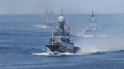 В Минобороны анонсировали масштабные учения ВМФ и ВКС в Средиземном море