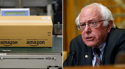 Сенатор Берни Сандерс уже несколько месяцев ведёт борьбу с Amazon, которая эксплуатирует американских рабочих