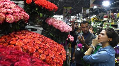 Оборот цветочной торговли 1 сентября может составить около 5,5 млн рублей в Подмосковье