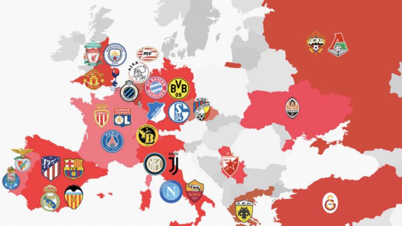 Польская спортивная газета опубликовала карту с российским Крымом