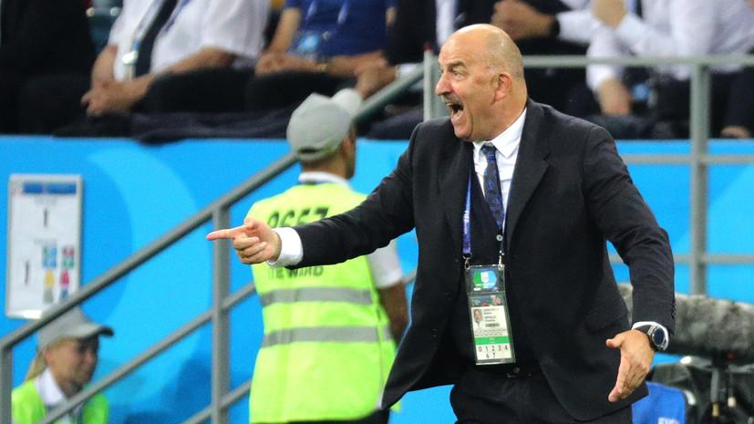 Победа вкаждом матче является задачей русских  футболистов вЛиге наций— Черчесов