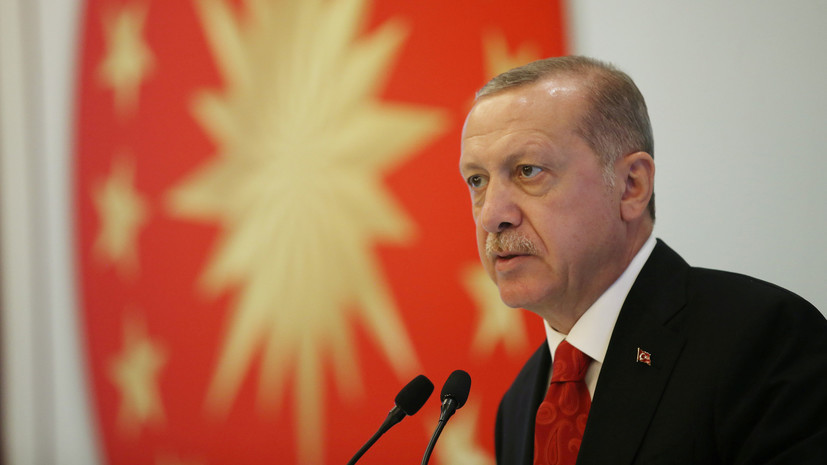 Эрдоган выступил за прекращение доминирования доллара в мировой торговле