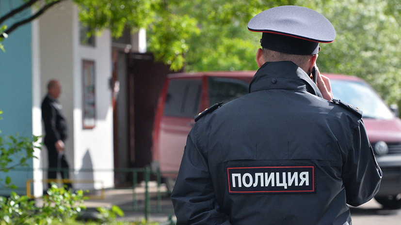In St  Petersburg, they detained a man armed with a gun
