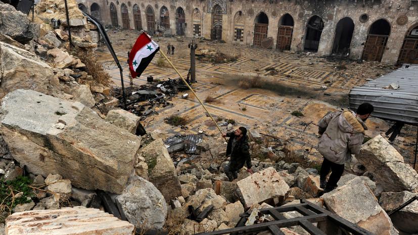 В МИД Сирии заявили, что США поставляют оружие ИГ
