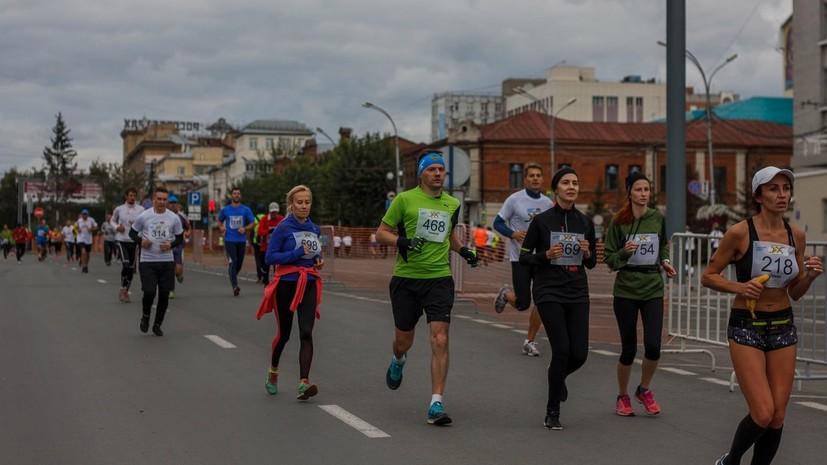 Фестиваль бега пройдёт 8 сентября в Новосибирске