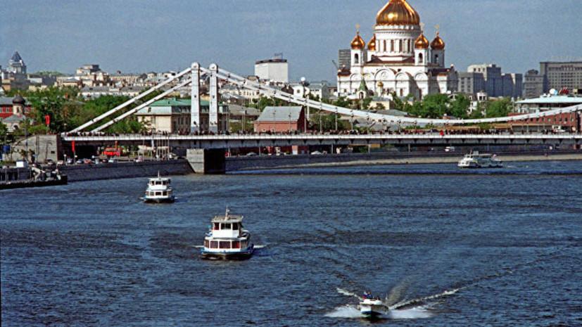 В Москве намерены запустить регулярный маршрут речных трамваев в 2021 году