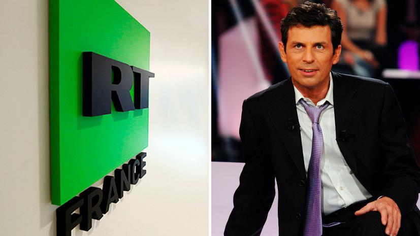 «Информация — это переосмысление реальности»: ведущий RT France о плюрализме мнений и современном телевидении