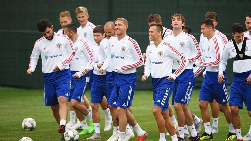 Голодец обратилась к футболистам сборной России перед матчем с Турцией