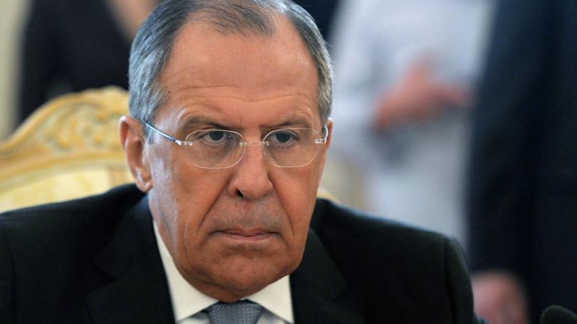 Лавров назвал выдумщиками авторов теории о роли Москвы в отравлении Скрипалей