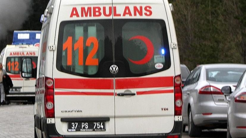 В Турции в результате крушения вертолёта погиб один человек