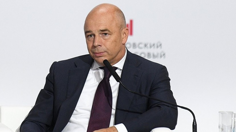 Силуанов поведал онедооценённости рубля