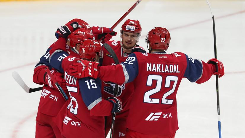 «Локомотив» одержал победу над «Салаватом Юлаевым» в матче КХЛ, проигрывая по ходу встречи две шайбы