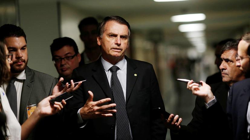 Кандидата в президенты Бразилии ранили ножом во время предвыборного мероприятия