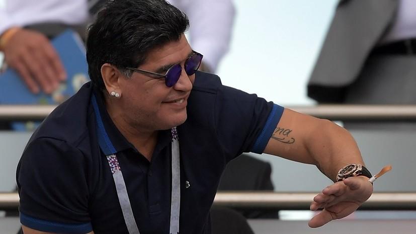 Брестское «Динамо» проверит информацию о новой работе Марадоны в мексиканском клубе