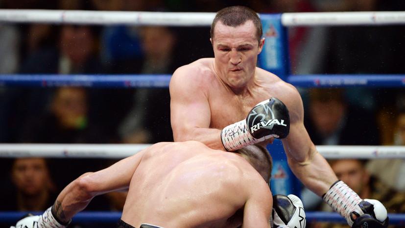 Боксёр Лебедев нокаутировал Алтункая в третьем раунде и получил шанс бросить вызов Усику