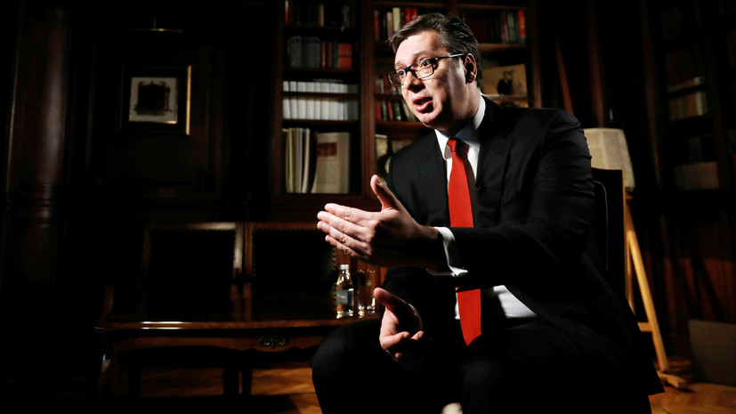 Президент Сербии отправится в Косово 8 сентября