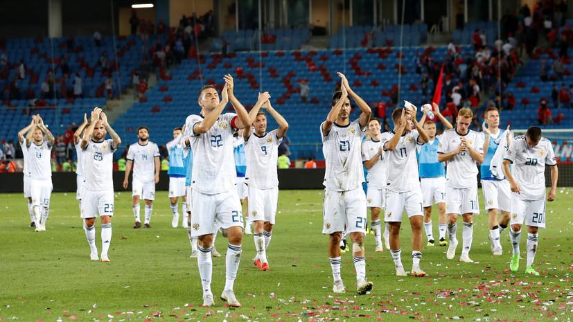 «Учли ошибки в контрольном матче»: что говорили тренер и футболисты сборной России после победы над Турцией в Лиге наций
