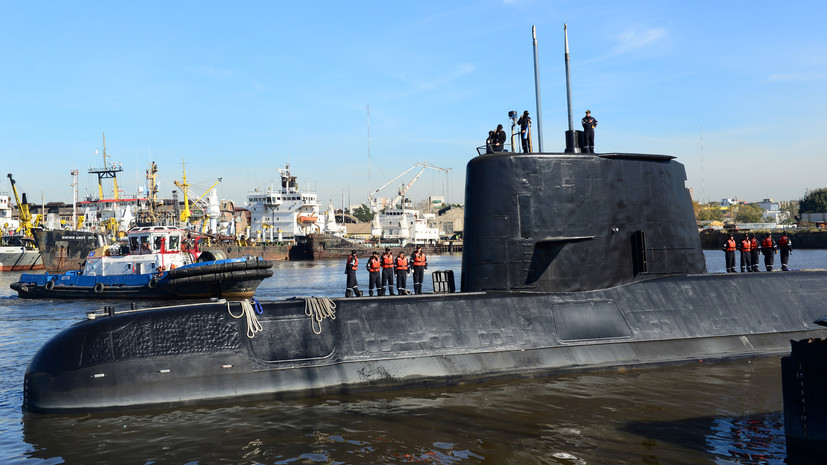 В Аргентине возобновили поиски пропавшей подлодки«Сан-Хуан»
