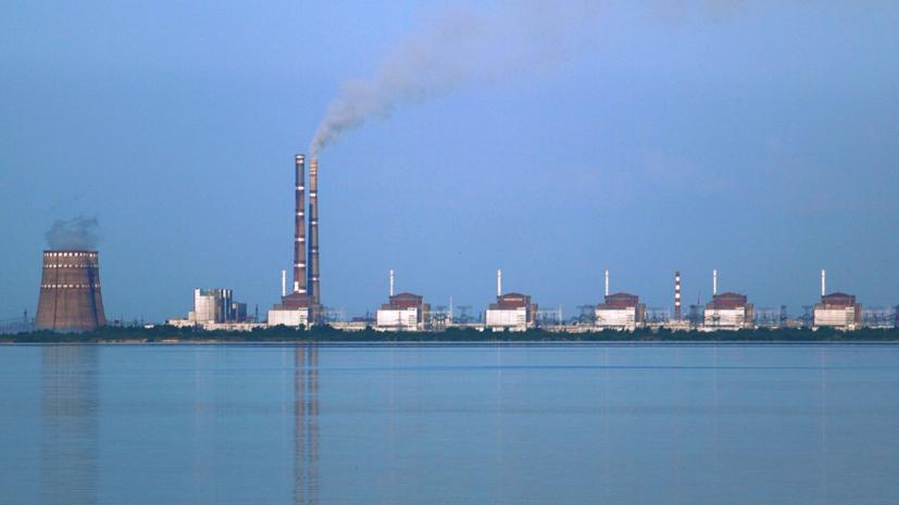 На Украине отключилипервый энергоблок Запорожской АЭС