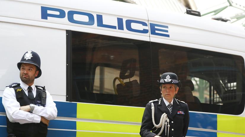 Полиция британского Барнсли задержала подозреваемого в нападении на прохожих с ножом