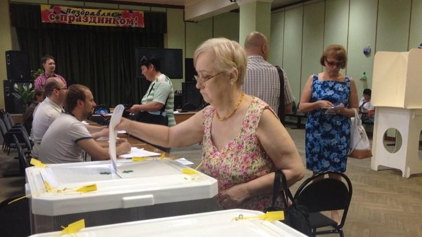 Избирательные участки открылись в регионах Центральной России