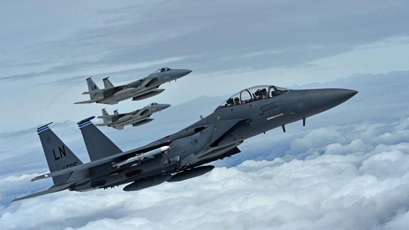 ВВС США нанесли удары фосфорными боеприпасами в провинции Дейр эз-Зор