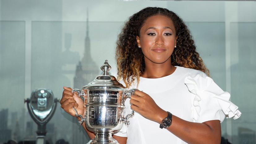 Осака поднялась на седьмое место в мировом рейтинге теннисисток WTA
