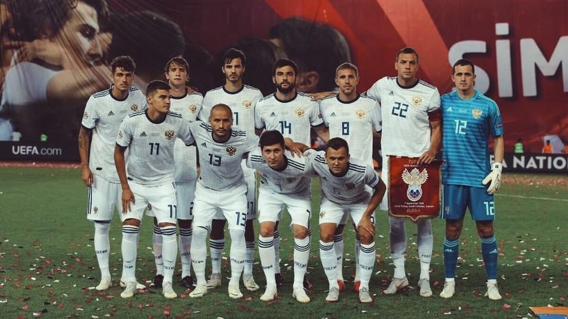 RT проведёт прямую трансляцию товарищеского матча сборной России по футболу с Чехией
