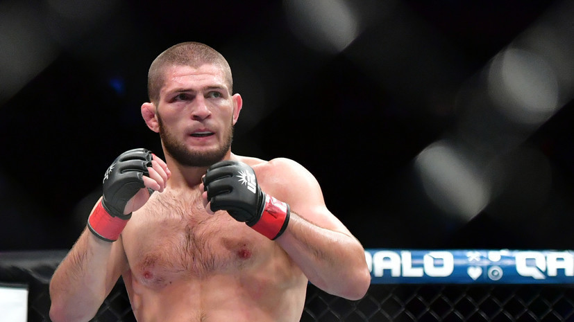 Russian UFC fighter Magomedsharipov supported Nurmagomedov